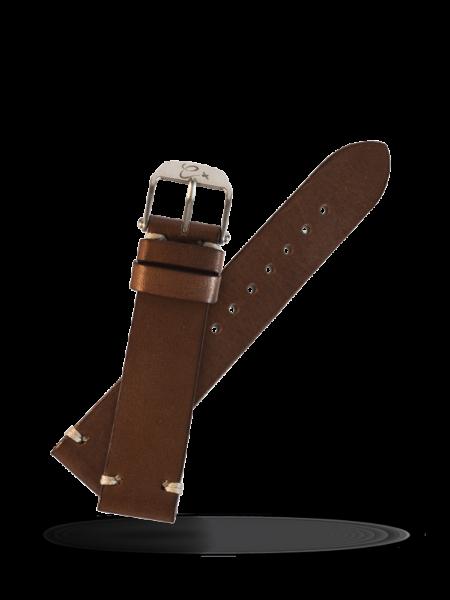 Dark Genuine Leather Strap